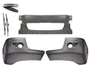 Freightliner Century Bumper Corner With One Holes And Front Bumper Black