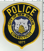 New Britain Police Connecticut 3rd Issue Shoulder Patch