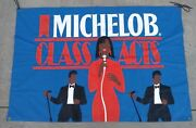 Vintage 1984 Michelob Class Acts Banner Advertising 47x70 Shirt Not Included