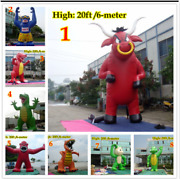 25and039ft 7.6m Inflatable Advertising Giant Monster Gorilla Buddy Crocodile Sj