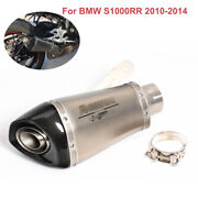 Motorcycle System Replace Insert Exhaust Muffler Pipe For Bmw S1000rr 2010-2014