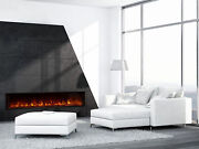 Modern Flames 80 Landscape Fullview 2 Built-in Electric Fireplace With Embers