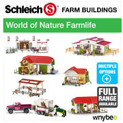 Schleich Full Farm Buildings Choose From Barn, Horse Stable And Riding Centre