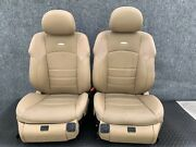 ✔mercedes W219 Cls55 Cls63 E63 Front Amg Sport Leather Seat Seats Cushion Oem