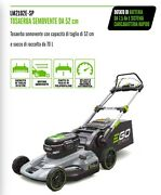Lawnmower Lawn Mower Battery Powered Complete Traction For 20 1/2in Of Cut