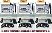 New Combo Portable Electrotherapy Machine + 1 Mhz Ultrasound Machine 06 Units