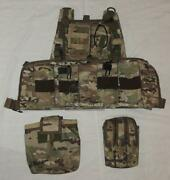 Multicam Chest Rig + Fort Pouches 9 Items Fsb Alpha Vympel Russian Spetsnaz
