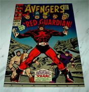 Avengers 43 Nm+ 9.6 Ow Pages 1967 Marvel 1st Red Guardian - Black Widow