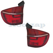 Fits 11 12 13 Bmw X5 Outer Taillight Taillamp Rear Brake Light Lamp Set Pair