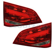 09-12 A4 And 10-12 S4 Inner Taillight Taillamp Rear Brake Light Lamp Set Pair