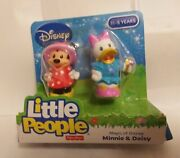 Little People Minnie Mouse Daisy Duck Magic Of Disney Fisher Price 2 Pack Figure