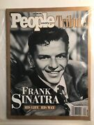 People Weekly Tribute Magazine - Frank Sinatra His Life His Way May/june 1998