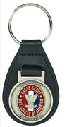 Eagle Scout Leather Key Ring