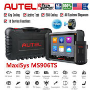 Autel Maxisys Ms906ts Auto Bluetooth Tpms Diagnostic Service Tool Obdii Scanner