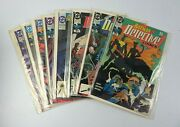 Dc Detective Comics With Batman Vf/nm 612-614, 627-628, 631-633 1990-91 Wrapped