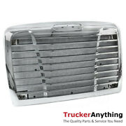 2005-2011 Front Grille Chrome For Freightliner Century C120 C112 W/ Bugscreen