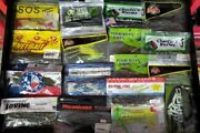 Mix Poor Boy's Worms Mizmo Mega Bass And More B221