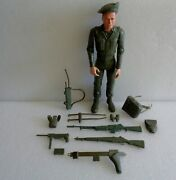 Vintage 1960s Marx Stony Stonewall Smith The Battling Soldier With Some Parts