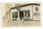 Rppc Indian Store Postcard Signs Mooshead Lake Greenville Me Real Photo Postcard