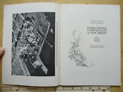 1933 Public Service Corp 59pg Annual Report New Jersey Nj Subway Trolley Transit