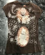 Vintage T Shirt - Brown Consciousness Zenana Outfitters Size Small