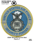 Patch Us Air Force Security Forces Seal Usaf Sf Mp Military Police Badge