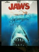 Steven Spielberg Signed Autographed 8x10 Jaws In Person Rare Director