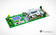 City Diorama Bricks Of Your Home Build With Custom Order By Matt For Lego City