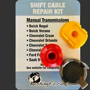 Chevrolet Cruze Unlimited Manual Transmission Shift Cable Repair W 2 Bushings