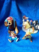 Disney Collectibles L/e Heroes And Villians 3 Piece Song Of The South