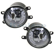 For 07-14 Camry And Hybrid Front Driving Fog Light Lamp Assembly W/bulb Set Pair