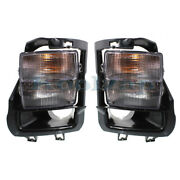 06-09 Sts-v 4.4l Front Driving Fog Light Assembly W/turn Signal Lamp Set Pair