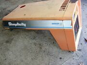 Simplicity Allis Chalmers 1708749sm Hood And Grill Grille Sovereign 18h Tractor