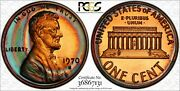 1972-s Lincoln Memorial Pcgs Pr66rb Rainbow Toned Gem Must Have Trueview