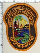 Dade County Public Safety Dept Florida 1st Issue Uniform Take-off Patch