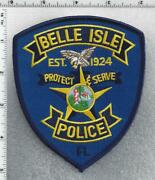 Belle Isle Police Florida 2nd Issue Shoulder Patch