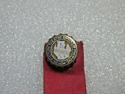 Vintage Motion Picture Theatre Owners Of Michigan Inc Union Pin W/ribbon
