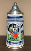 Tyrolean Couple 100th Anniversary Thewalt Beer Stein Limited Edition 2304/2500