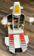 Gobots Andro Base Space Ship Playset Carrying Case Go-bots Transformers 1985
