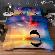 Dolphin Ghost Sea 3d Printing Duvet Quilt Doona Covers Pillow Case Bedding Sets
