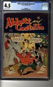 Abbott And Costello 18 - Cgc 4.5 Ow/white Pages - Lets Celebrate