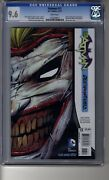 Batman 2011 13 - Cgc 9.6 White Pages - Death Of The Family - Die Cut Cover