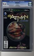 Batman 2011 13 Looking Glass Ri - Cgc 9.6 White Pages - Death Of The Family
