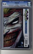 Batman 2011 13 - Cgc 9.4 White Pages - Death Of The Family - Die Cut Cover