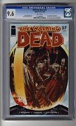 Walking Dead 27 - Cgc 9.6 White Pages - First Governor - Charlie Adlard Cover