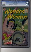 Wonder Woman 1942 83 - Cgc 7.0 Ow/white Pages - Fourth Highest Graded 1 Of 2
