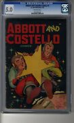 Abbott And Costello 3 - Cgc 5.0 Off-white Pg - Second Highest Graded