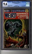 Weird Western Tales 12 - Cgc 9.6 Ow/white Pages - Third Appearance Jonah Hex