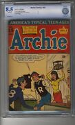 Archie Comics 15 - Cbcs 8.5 Ow/white Pages - Second Highest Graded - Scarce