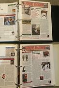 Antiques Roadshow Insider Newsletter / Magazine Lot Of 84 Issues 2003 - 2010